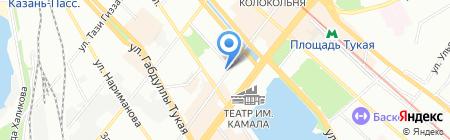Бухгалтер ПРОФ на карте Казани