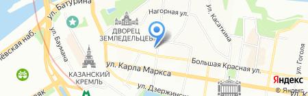 Покровский на карте Казани