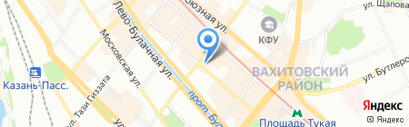 МирТ на карте Казани