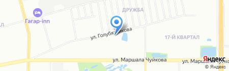Автошкола Добровольное общество содействия армии на карте Казани