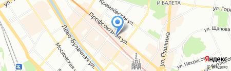 Давид на карте Казани