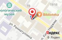 Схема проезда до компании Праймлаб в Казани