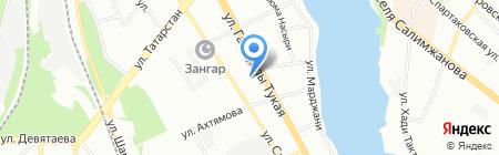Автожесть на карте Казани