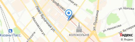 Кофеин на карте Казани