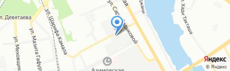 Татграф на карте Казани