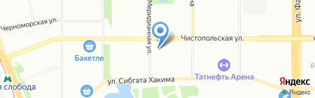 Альтесс на карте Казани