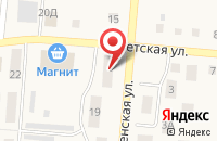 Схема проезда до компании Поволжский банк Сбербанка России в Подстепках