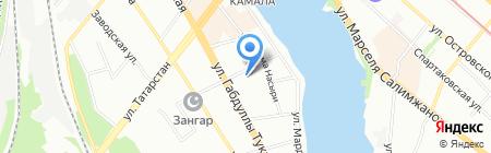 Лайт Копи на карте Казани