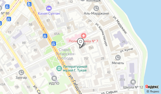 Лайт Копи. Схема проезда в Казани