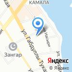Верное решение на карте Казани