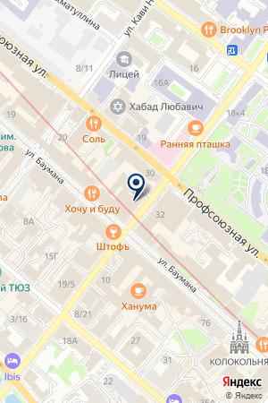 ФОТОСАЛОН ЮПИТЕР на карте Казани