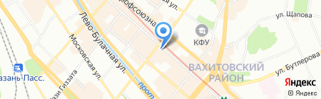 Банкомат ИШБАНК на карте Казани