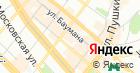 Продуктовый магазин на ул. Баумана на карте