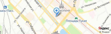Веллари на карте Казани
