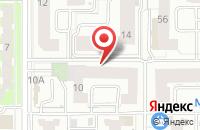 Схема проезда до компании Техстройгарант в Казани