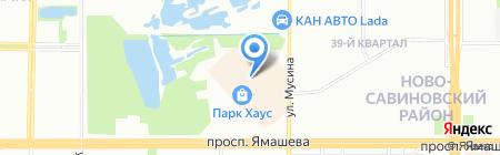 TERRANOVA на карте Казани