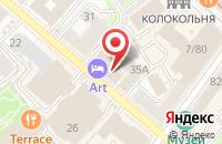 Схема проезда до компании Гравюра Дизайн в Казани