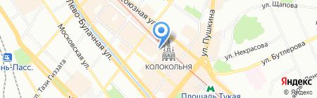 Казанская Сувенирная Компания на карте Казани