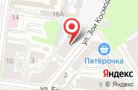 Схема проезда до компании Нефтеэксплозивсервис в Казани