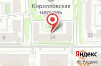 Схема проезда до компании Авиаревю в Казани