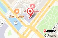 Схема проезда до компании Эллин в Казани
