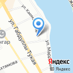 Референ на карте Казани