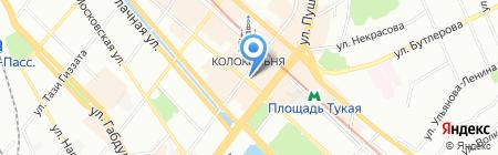 Опорный пункт общественного порядка Отдел полиции №16 Япеева на карте Казани