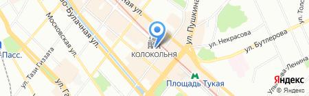 В гостях у Шаляпина на карте Казани