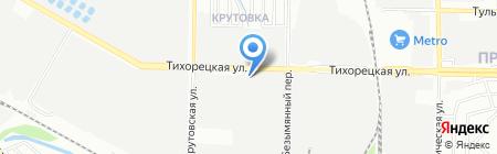 Донской табак на карте Казани