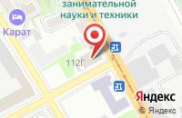 Схема проезда до компании Ротопринт в Казани