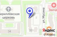 Схема проезда до компании ТФ ЦЕНТР в Чистополе