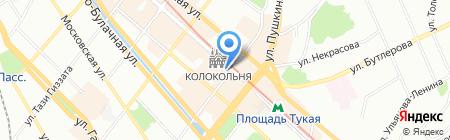 Московский Ювелирный Завод на карте Казани