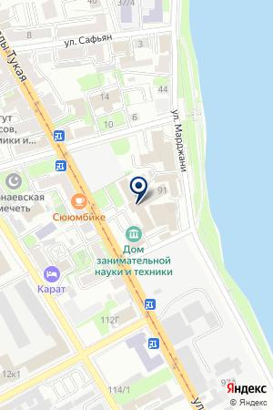 ДК МЕЛИТА на карте Казани