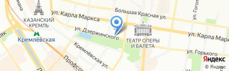 Изолятор временного содержания №2 на карте Казани