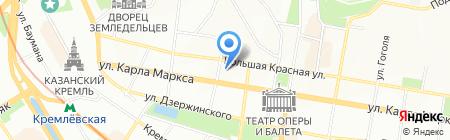 Безопасность на карте Казани