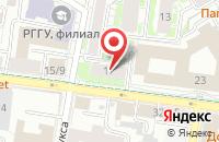 Схема проезда до компании Творческий Союз  в Казани