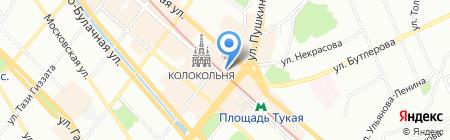 Снежная Королева на карте Казани