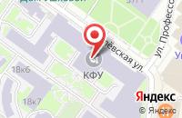 Схема проезда до компании Научно-производственное предприятие  в Казани
