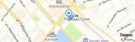 АК БАРС Страхование на карте Казани