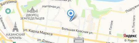Эй энд Ди Рус на карте Казани