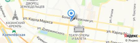 Beauty Room на карте Казани