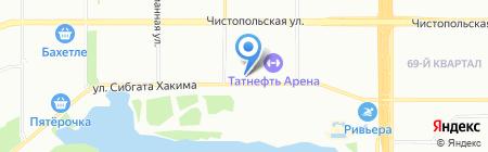 RD на карте Казани