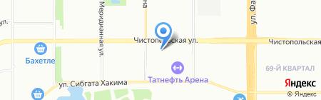 Аптеки 366 на карте Казани
