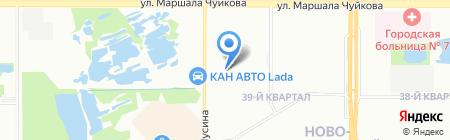 Детский сад №338 Аленушка на карте Казани