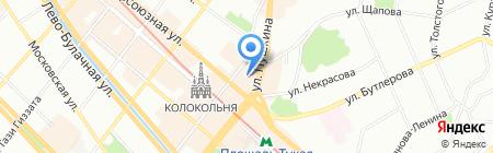 Евро Акцент Саба на карте Казани