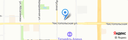 Торекс-стальные двери на карте Казани