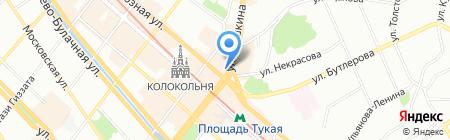 City Style на карте Казани