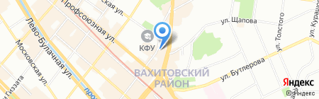 Coffee Time на карте Казани
