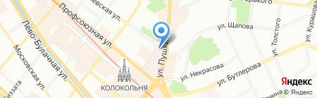 Кабинет Массажиста на карте Казани
