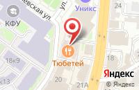 Схема проезда до компании Отражение в Казани